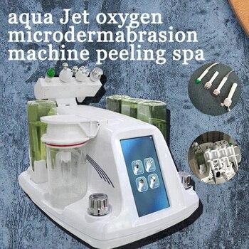 RF Bio-lifting Spa Facial Machine / Aqua Facial cleaningl Machine /water Peeling Dermabrasion