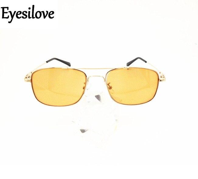 Eyesilove fashion men myopia sunglasses Nearsighted Glasses Myopia sun glasses eyewear brown color lenses -1.0 to -6.0