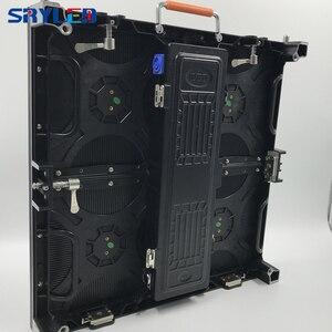 Image 3 - P3.9 P3.91 наружный светодиодный экран, видео настенная панель 500x500 мм цена