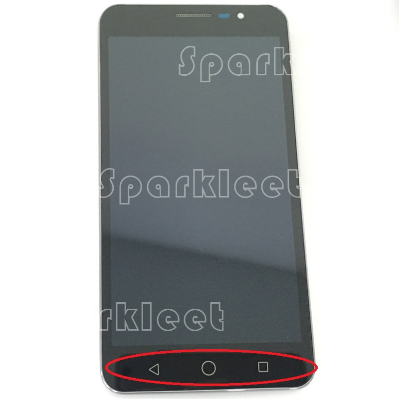 Noir Nouveau LCD avec Cadre Affichage Assemblée Digitizer Pour Coolpad Modène E501 avec Écran Tactile Smartphone Remplacement