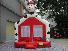 4.5X4M Customized Inflatable Door Bouncy Castle Inflatable Bouncer