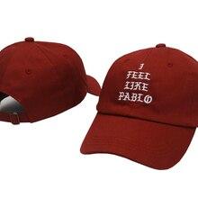 Kanye West, бренд I feel like pablo, модная кепка для гольфа, шапка для папы, шляпа от солнца, хлопковая бейсболка для женщин и мужчин, бейсболка