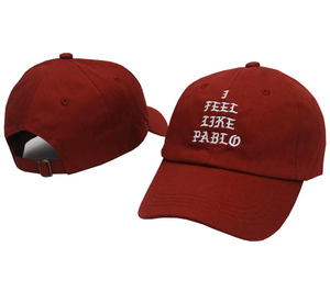 Kanye West Brand I feel like pablo Fashion Golf Swag Cap Pray Palace Dad Hat Sun Cotton Women and Men Baseball Cap Snapback(China)