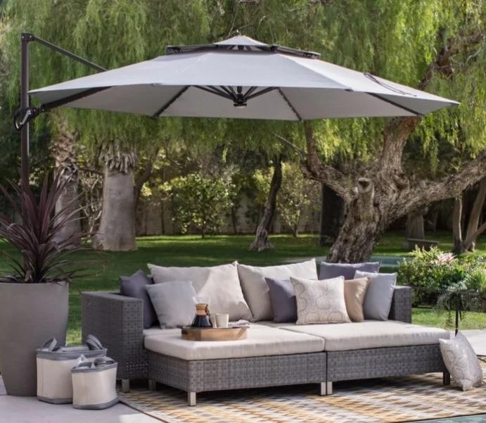 hot sale quality outdoor furniture small sofa set garden rattan modular sofas