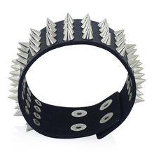Spikes Rivet Cuff Bracelet