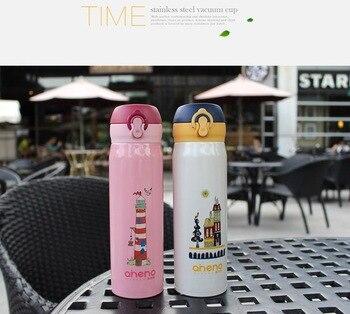 Kinder Edelstahl Wasserkocher (A095); Tragbare; Baby Flasche; Doppel Kupfer überzug Technologie; Hohe Temperatur Backen Farbe.