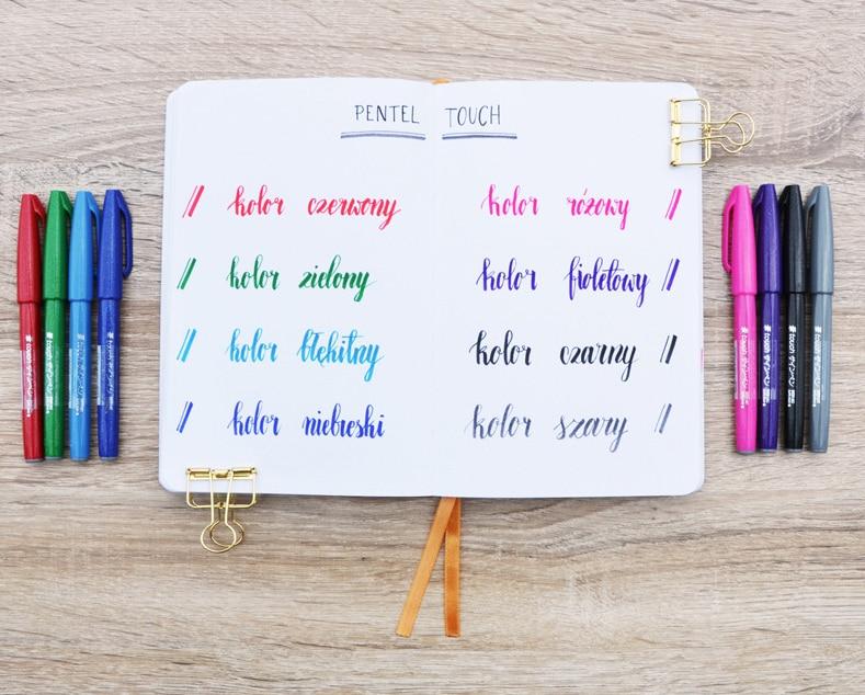 caneta conjunto cor caligrafia canetas rotulação pennarelli