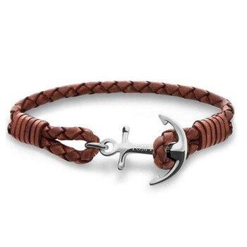 Bracelet Avec Une Ancre Pour Homme
