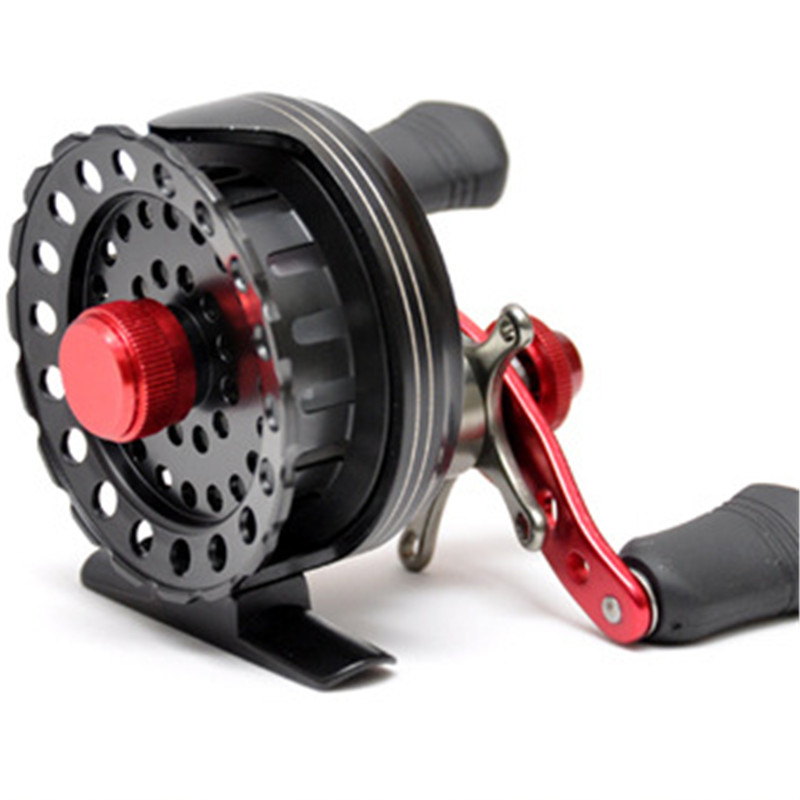 LEO New Arrival FA60 Power Version 2.6:1 Fly Fishing Reel Full Metal Body Raft Fsihing Wheels Left / Right Hand Tackle Tools