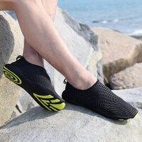 남성 여성 수영 물 아쿠아 신발 산책 피부 신발 비치 평면