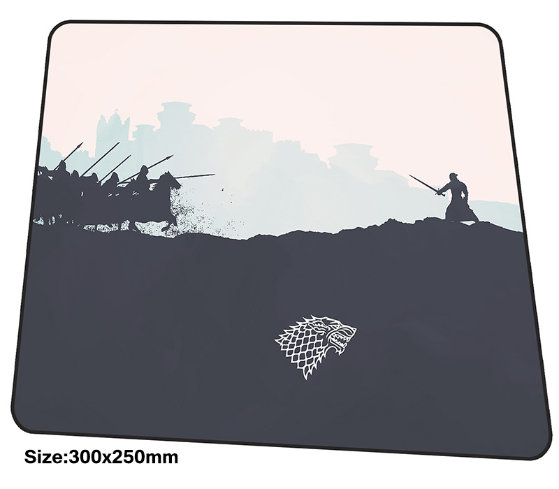 Game of Thrones mouse pad 300x250mm mousepads best gaming mousepad gamer hot sales personalized mouse pads Mass pattern pc pads