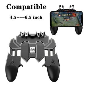 Phone 4.5-6.5 inch joystick Mobile Controller PUBG gamepad r1l1 Shooter game joypad r1 l1 Compatible for iPhone android xiaomi