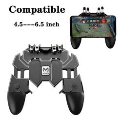 Telefon 4.5 6.5 cal joystick mobilny kontroler PUBG gamepad r1l1 Shooter joypad do gier r1 l1 kompatybilny z iPhone z systemem android xiaomi w Klawiatury do telefonów komórkowych od Telefony komórkowe i telekomunikacja na