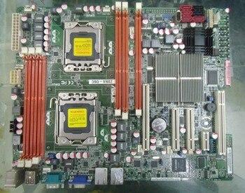 اللوحة الأصلية ASUS Z8NA-D6C LGA 1366 DDR3 24GB RDIMM 48GB USB2.0 VGA سطح اللوحة