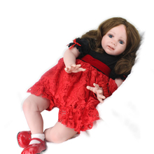 60 cm Emulation doll girl Baby toy rebirth Doll doll model Child