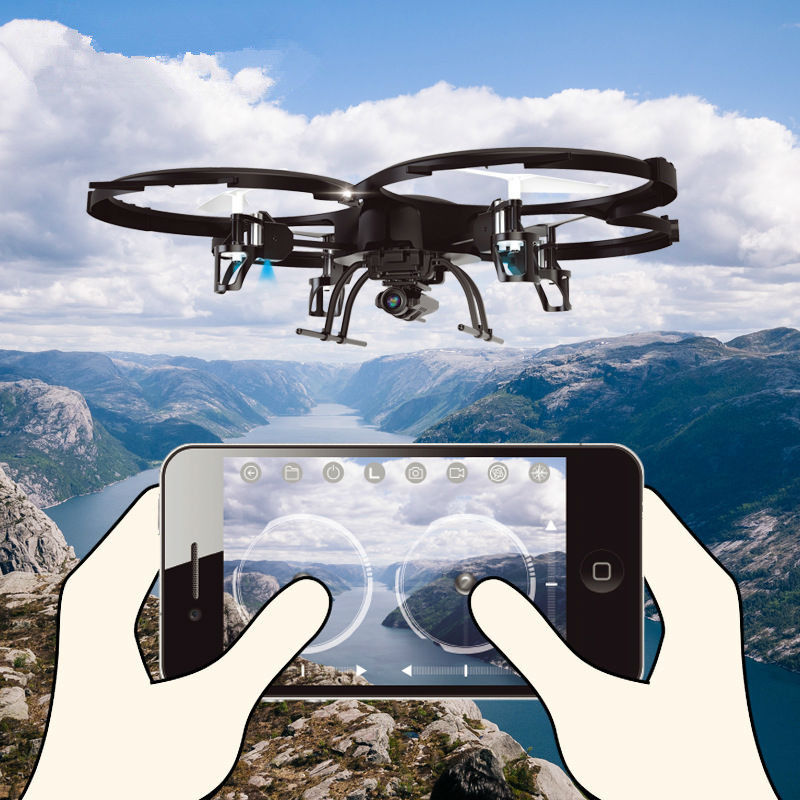 rc drone BIG Remote Control Helicopter Quadcopter 6-Axis Gyro One Key Return Wifi FPV HD Camera U818A U919A Updated version syma x5hw rc helicopter 2 4ghz 4ch 6 axis gyro aircraft drone with 0 3mp fpv wifi camera remote control quadcopter gift toys