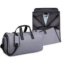 Men's Business Travel Bags Big Large Capacity Clothes Suit Tie Tote Pouch Garment Shoe Classification Case Luggage Accessories
