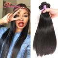 Malaysian Straight Hair Grade 6A Rosa Hair Products 4 Pcs Natural Black Malaysian Sexy Formula Hair 100% Human Hair Extension