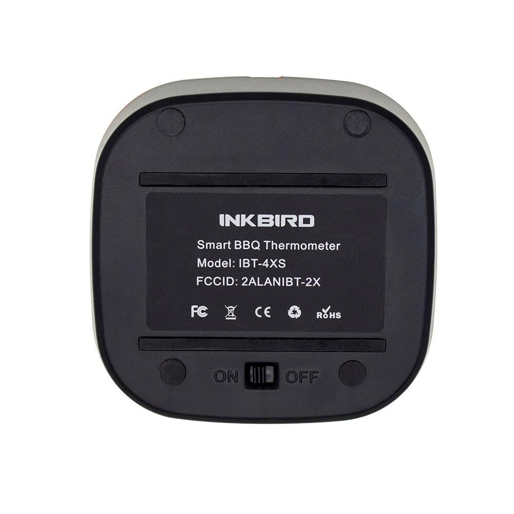 Image 5 - Inkbird IBT 4XS цифровой беспроводной Bluetooth печь для  приготовления барбекю термометр для гриля с двумя/четырьмя зондами и  перезаряжаемой батареей USBgrilling thermometerbbq grill  thermometercooking ovens