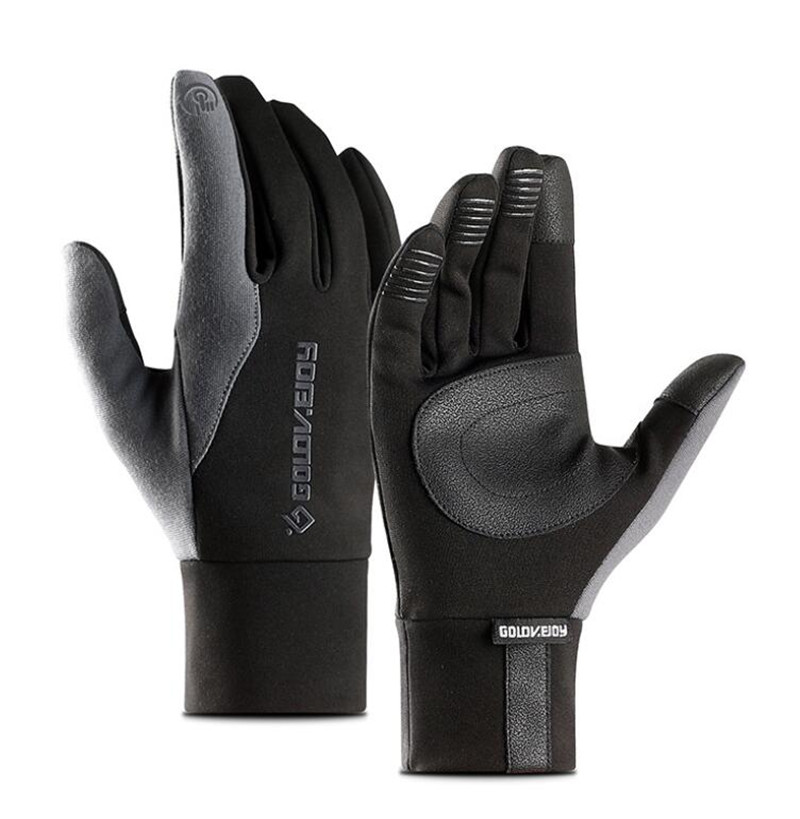 Winter Motorcycle Gloves Men Waterproof Windproof Warm Fleece Lined Cycling Bicycle Cold Luvas Motor Guantes Touch Screen Gloves