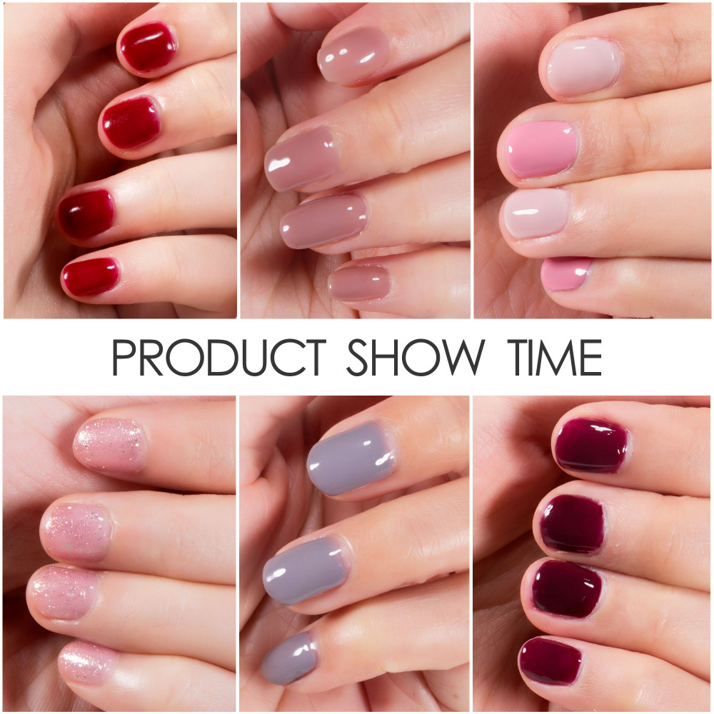 Modelones Newest Color Gel Nail Polish Coffee Color UV Nail Gel ...