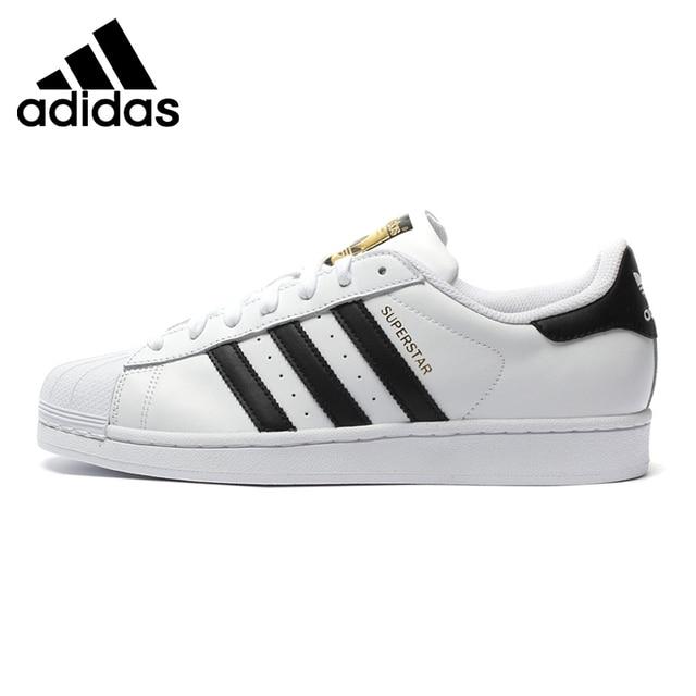Original Nouvelle Arrivée 2018 Adidas Originals Superstar Classiques  Unisexe Planche À Roulettes Chaussures Sneakers