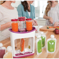 Baby Food Maker Pouches Easy Clean Baby Food storage Kids Insulation Bags Topper Organizer Safe Almacenaje for Newborn