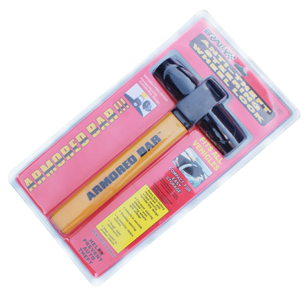 T-shaped Universal Anti-Theft Car Van High Security Rotary Steering Wheel Lock For SUV Truck Car
