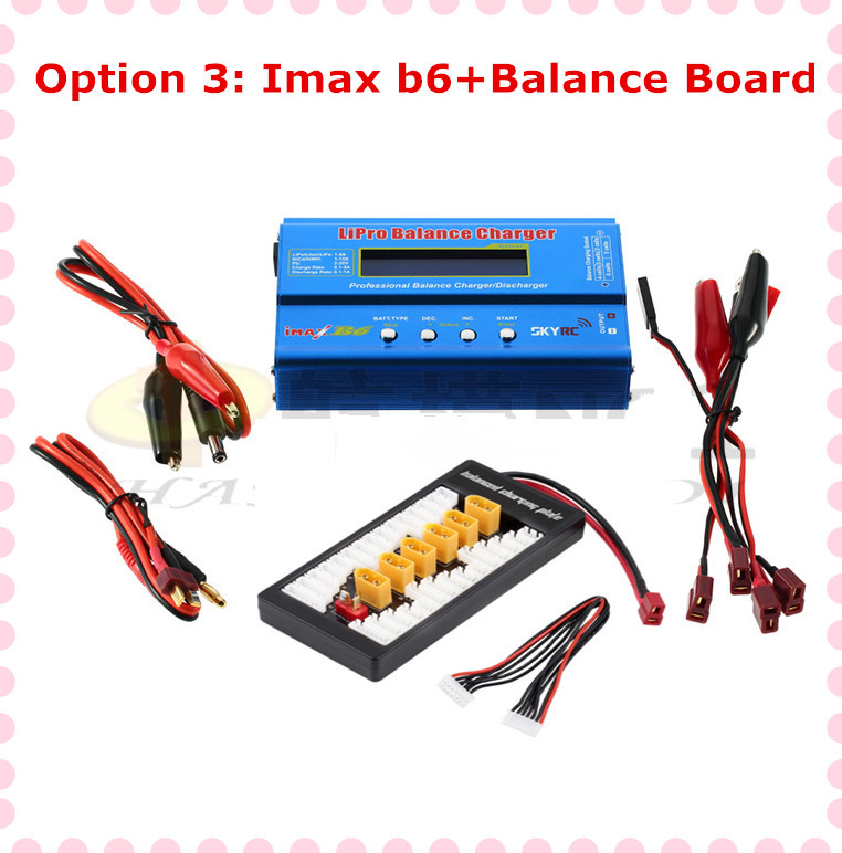 100% Original IMax B6 B6-AC 2s-6s 7.4v-22.2v Digital LCD Lipo battery Balance rc helicopter Charger +switch board (option 3) P1 new 7 4 11 v 2s 3s lipo battery balance charger for rc helicopter quadcopter