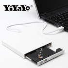 YiYaYo External Optical Drive DVD ROM CD RW USB 2.0 CD/DVD Player Combo Reader Write Portatil for Laptop Computer Windows7/8