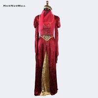 NuoNuoWell Halloween Luxury Cosplay Performance Clothing Arab Roman Greek Goddess Cleopatra Skirt