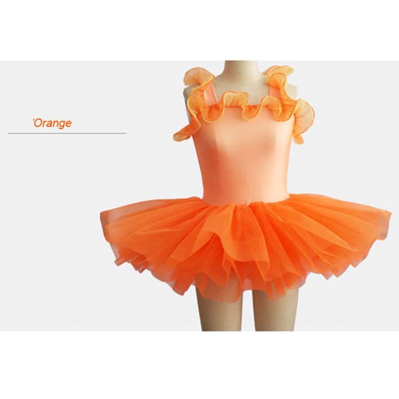 Fleur colorée Ballet porter des robes d'enfants pour des Performances de Ballet enfants vêtements de Ballet enfant danse filles ballet justaucorps HB594