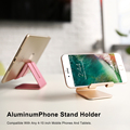 Hot Selling Universal Mobile Phone + Tablet PC Stand Holder Aluminum Alloy Charging Dock Support Cradle Travel Mini Portable