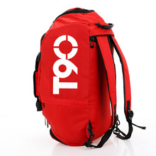 Фирменная Новинка Для мужчин сумка для спортзала Для женщин Фитнес Водонепроницаемый открытый отдельное пространство для обувь сумка рюкзак скрыть рюкзак и сумка De T90
