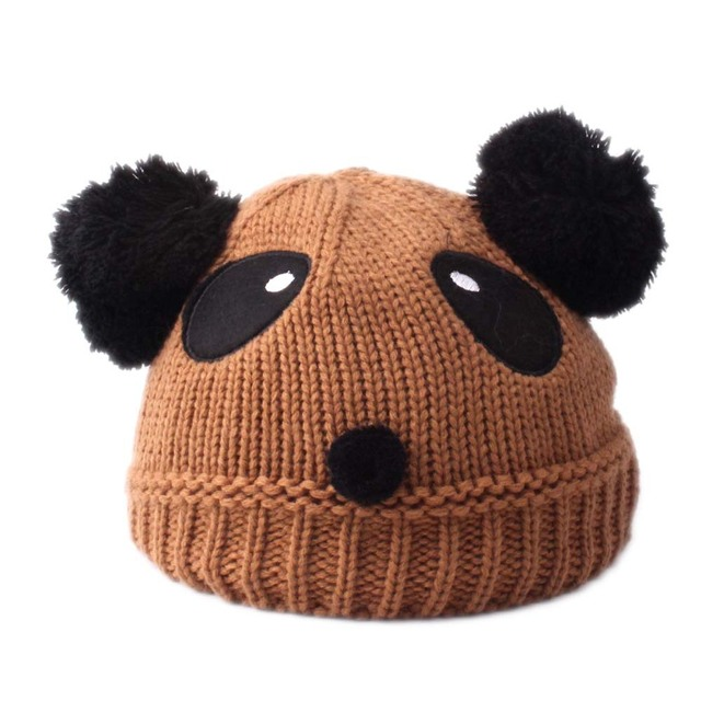 New Autumn Winter Crochet Children Beanies Hats PomPom Ball Hat Girls Beanies  Caps Toddlers Kids Knitted Caps Boys Beanie Hats c143814226eb