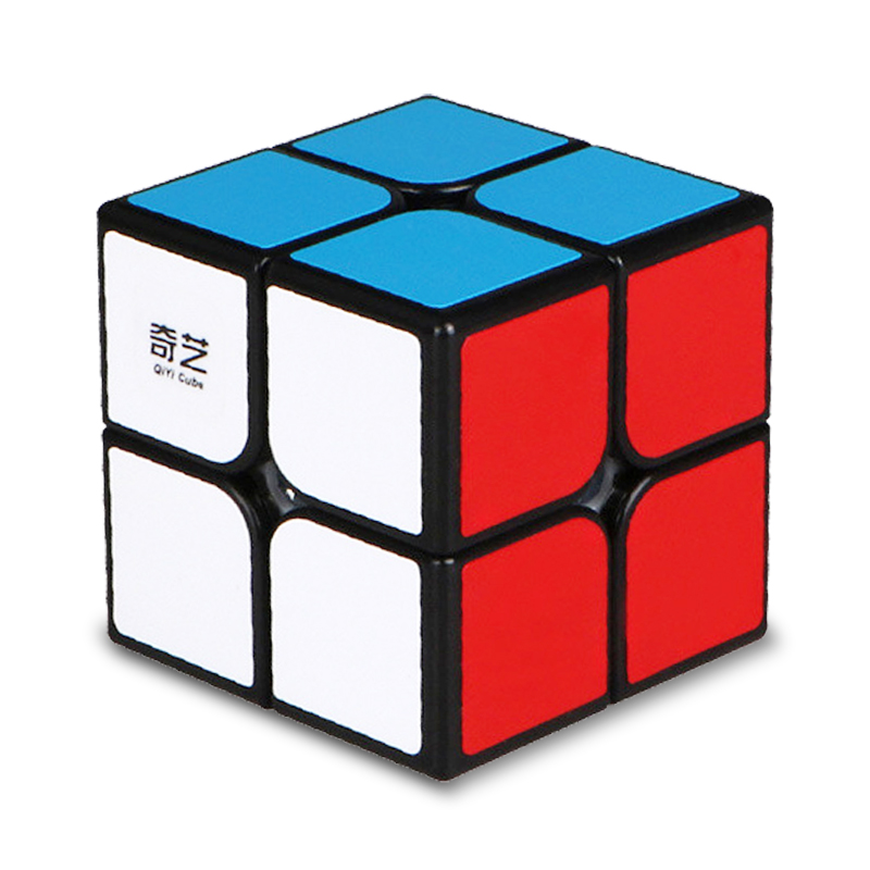 QiYi QiDi 2X2X2 Magic Speed Cube Pocket 50mm Puzzle Cube Professional Educational Funny Toys For Children