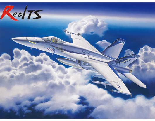 RealTS Trumpeter 1/32 03204 F/A-18E Super Hornet Model Kit realts trumpeter 1 144 03904 tu 95ms bear h model kit