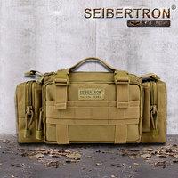 Seibertron Tactical Utility Response Shoulder Hand Bag Multipurpo se Waist Bag waterproof bag color brown and black