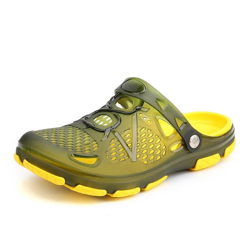 2019 New Men Sandals Summer Flip Flops Slippers Men Outdoor Beach Casual Shoes Cheap Male Sandals Water Shoes Sandalia Masculina 2