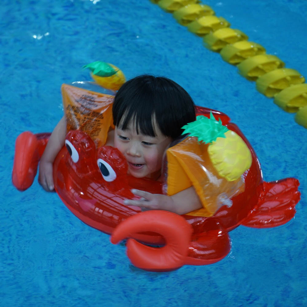 1 Pair PVC Inflatable Arm Float Baby Arm Swimming Float Children Air Sleeves Circle Swimming Safety Training Kid Pool Float Toy