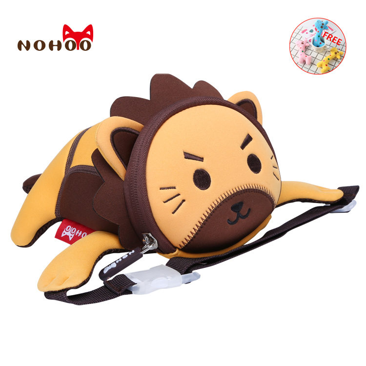 Fanny Pack NOHOO 3D Cartoon Waist Packs Lion Travel Kids Mini Purse High Quality Waterproof Bag Adjustable Belt Bag Heuptas
