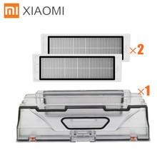 Оригинальный xiaomi mi робот пылесос Запчасти Коробка для шпилек с HEPA фильтры для замены для xiaomi Роботизированная уборочная машина mi робот
