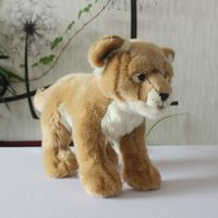 Real Life Plush Lions Doll Kids Toys Cute African lion Good Quailty African lion Toy