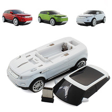 Новая Беспроводная мышь прохладный моды супер автомобиль форме мышь USB 2.4 ГГц оптическая мышь мыши для портативных пк Desktop computer высокого качества