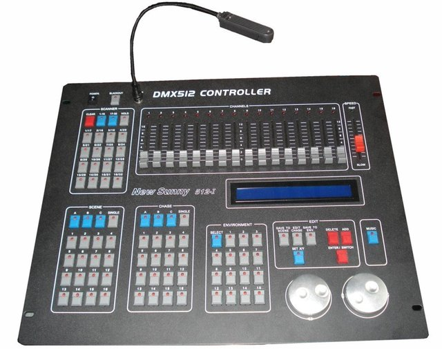 hot sale 512Channel DMX Computer lamp control/512CH LED lighting console/stage lighting equipment/DMX controller