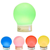 Bluetooth Speaker Touch Color up Light Wireless Music Lamp With Handsfree Call Portable Bluetooth Speaker