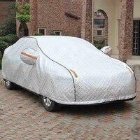 YIKA Winter Plus Super Full Car Cover With Lock Anti Thief Waterproof Thicken Case Sun Shade