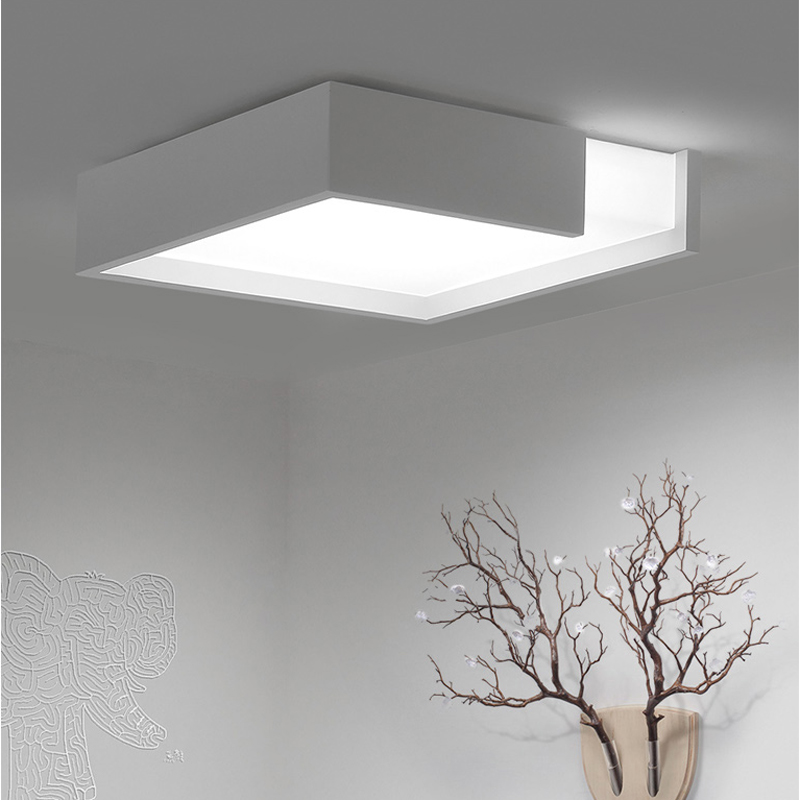 Hot Sale Modern Remote Control Surface Mounted Ceiling Lamp Square Led Panel White/black For Bathroom Lighting Ac110-240v Luminarias Para Back To Search Resultslights & Lighting