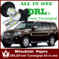 Night Lord  For Mitsubishi pajero sport  LED DRL Daytime Running Lights&Front Turn Signals light All In One free shipping