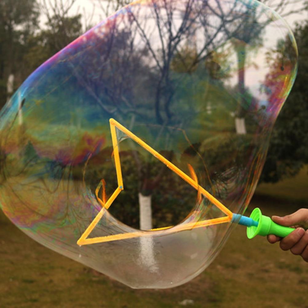 Big Size 46cm Outdoor Toys Long Bubble Machine Gun Bar Sticks Without Water Western Sword Shape For Kids Soap Bubble Toy